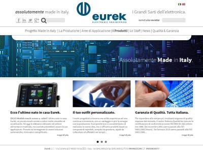 Sito Web Eurek | Restyling Identità Visiva