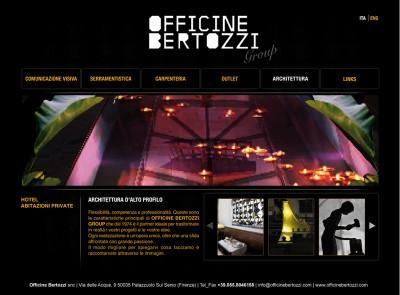 Sito Web Officine Bertozzi