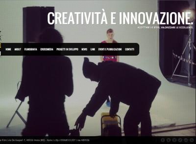 WebSite SonneFilm  | Restyling Identità Visiva