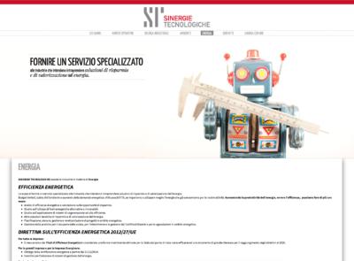 Sito Web Sinergie Tecnologiche